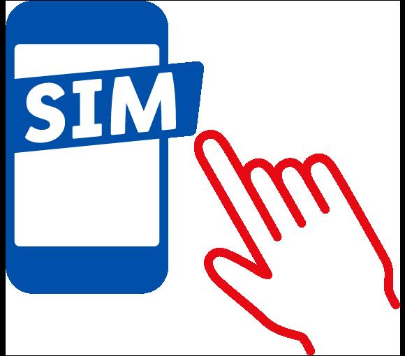 Icon: SIM-Karte bestellen