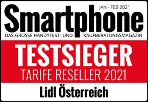 Smartphone Testsieger Tarife Reseller 2021